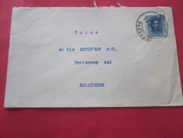 Industriel à BARCELONA  Espagne Espana  Letter Lettre  > Autophon SOLTHURN Suisse Helvetia Par Avion - 1931-Heute: 2. Rep. - ... Juan Carlos I