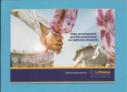 LUFTHANSA - ADVERTISING - Promoção De Primavera 2004 - 2 Scans - Flugwesen