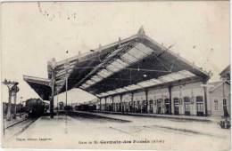 Gare De St-GERMAIN-des-FOSSES - Hugon, éditeur - France
