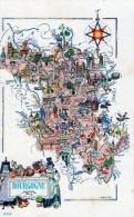 Régions> Bourgogne Carte Bourgogne - Bourgogne