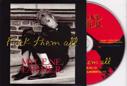 CD Single - MYLENE FARMER - Fuck Them All - Disco, Pop