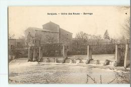 SORGUES - Usine Des Roues , Barrage - Edition Chave Tabacs  - 2 Scans - Sorgues