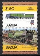 Bequia 1984 - Locomotiva, Treno, Locomotive, Train MNH ** - St.Vincent (1979-...)