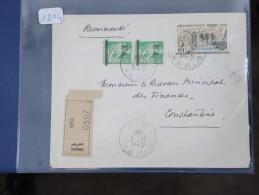 ALGERIE - EA  Sur Lettre Recommandée De Sétif De1962 - A étudier - Détaillons Collection - Lot N° 1314 - Algeria (1924-1962)