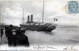 """76 LE HAVRE ++ Le Transatlantique """"La Gascogne"""" ++ - Le Havre"""