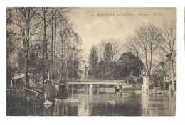 Cp, 77, Montigny-sur-Loing, Le Pont, Voyagée 1922 - Other Municipalities