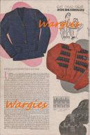 """Fashion De L´année 1945 \"""" MODES & TRAVAUX \"""" N°540..(voir Description) - Boeken, Tijdschriften, Stripverhalen"""