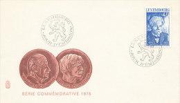 DC-0247 - FDC LUXEMBOURG 1975 - ALBERT SCHWEITZER NOBELPRIZE PEACE - Nobel Prize Laureates