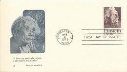 DC-0254 - FDC USA 1979 - ALBERT EINSTEIN NOBEL PRIZE - Nobel Prize Laureates