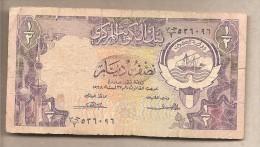 Kuwait - Banconota Circolata Da 1/2 Dinaro - Kuwait