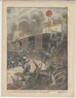 1916 Italian Magazine WWI  Italian Terrible Air Bombardment Of  Postojna Postumia Adelsberg Slovenija Slovenia LITHO - Voor 1900