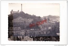 Au Plus Rapide Lyon Les Archives Vues Du Jardin De La Croix Rousse Beau Format 9 Par 12 Cm - Places
