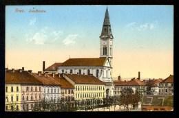 Graz Josefkirche / Postcard Traveled - Graz