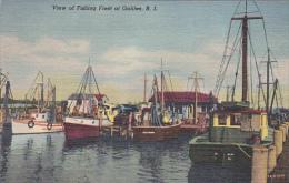 Fishing Fleet , GALILEE , Rhode Island , 30-40s - Fishing
