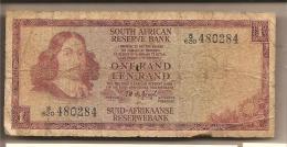 Sudafrica - Banconota Circolata Da 1 Rand - Sudafrica