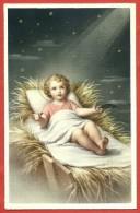 CARTOLINA VG ITALIA - BUON NATALE - Gesù Bambino - 9 X 14 - ANN. TORINO 1958 - Altri