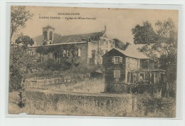 CPA  GUADELOUPE Basse  Terre Eglise Du Mont-Carmel - Basse Terre