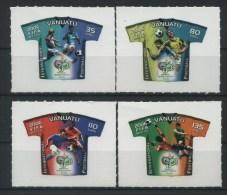 2006 Vanuatu, Mondiali Di Calcio Germania 2006, Serie Completa Nuova (**) - Vanuatu (1980-...)