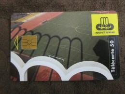 Chip Phonecard,Stade Louis II,mint - Monaco