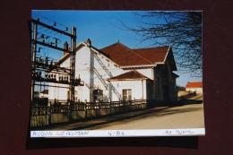 Photo - Gare  D'AUDUN LE ROMAN EXTERIEURS GARE - Trenes
