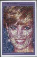 1999 Gambia, Lady Diana Principessa Del Galles, Foglietto Serie Completa Nuova (**) - Gambia (1965-...)