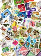 LOt + De 100 T  Animaux, Pays Divers (30) Sauf France - Stamps