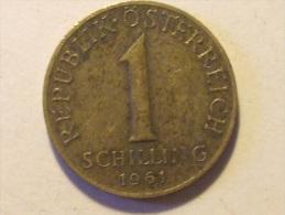 1 SCHILLING 1961 - Austria