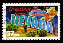 Etats-Unis / United States (Scott No.3723 - Greetings From America - 37¢) [o] Très Bien / Very Fine - United States