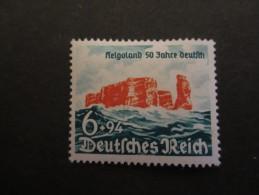 Deutsches Reich 1940, 9. August, Helgoland Seit 50 Jahren Deutsch - Allemagne