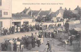 """¤¤  -  PREFAILLES En Fête  -  Départ De La Course En Vélos  -  Boucherie """" P. Paty """"  -  Tabac """" A. Civel """" - Préfailles"""