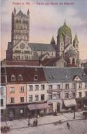 Neuss A Rh   Partie Am Markt Mit Münster        Scan 10278 - Neuss