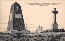 ¤¤  -   99  -    PREFAILLES   -   Monument Aux Morts Sur La Côte De Saint-Gildas     -  ¤¤ - Préfailles