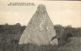 MENHIR DE BOIVRE   ST BREVIN    MEGALITHES - Dolmen & Menhirs