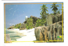 Seychellen - Seychelles - Anse Source D`Argent - La Digue - Nice Stamp - Seychellen
