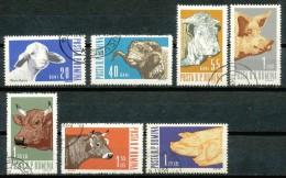 Rumänien - Mi .Nr.    2117 - 2123  -  Gestempelt - 1948-.... Republiken