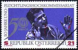 Autriche 2001 Y&T 2179. Annulation Pour La Presse Philatélique. 50 Ans Du Haut Commissariat Aux Réfugiés. UNHCR - Refugees