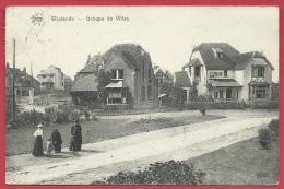 Westende - Groupe De Villas - 1912  - De Graeve , Gand ( Verso Zien ) - Westende