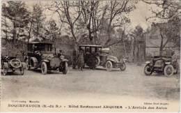 ROQUEFAVOUR – Hôtel Restaurant Arquier L'arrivée Des Autos - Roquefavour