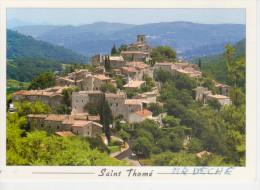 SAINT THOME'    Village Médiéval Perché Au Dessus De La Vallée De Escoutay      (VIAGGIATA) - France