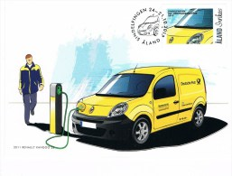 Aland 2012 Maximumkarte - Renault Kangoo ZE - - Coches