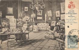 PALAIS De S.A.R Le PRINCE ALBERT . Salon Particulier . 1906 Vers BXL ( Mme COMENGE ) . Voir Verso . - Monumenten, Gebouwen