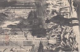 Dinant     Les Masacres De Dinant        Soldaat     WO I  14-18    Scan 10312 - War 1914-18