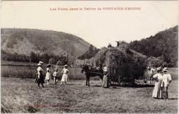 Les Foins Dans Le Vallon De Fontaine-Froide - France