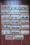 LOTTO 20 CARTOLINE STEREOSCOPICHE A SFONDO MILITARE_LIBIA_ TRIPOLI_TURCHIA_GUERRA_SOLDATI_BATTAGLIA_COMBATTIMENTO_DIVISE - Cartes Postales