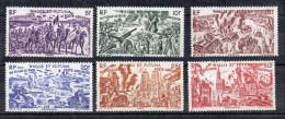 Wallis Et Futuna PA N°5 à 10  Neufs Sans Gomme - Poste Aérienne