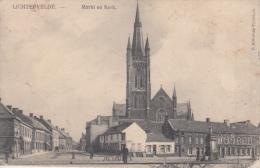 Lichtervelde Markt     Kerk      Scan 10325 - Chiese E Cattedrali