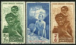 Nouvelle Caledonie (1942) PA N 36 à 38 * (charniere)