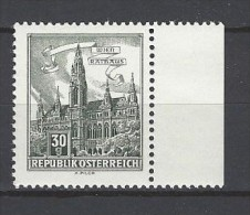 ÖSTERREICH - Mi-Nr. 1111 Randstück Wien Rathaus Postfrisch (4) - 1945-.... 2. Republik