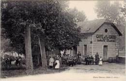 ( BLERE ) – Café De La Gare Tenu Par Mathurin Delépine ( Cliché Moreau ) - Bléré