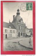 78-Bonnieres-la Mairie-- Taille Cpa écrite 1913 - Bonnieres Sur Seine